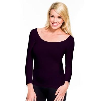 ユニセックス 衣類 トップス Skinny Tees 3/4 Scoop Neck Top 118 Tシャツ