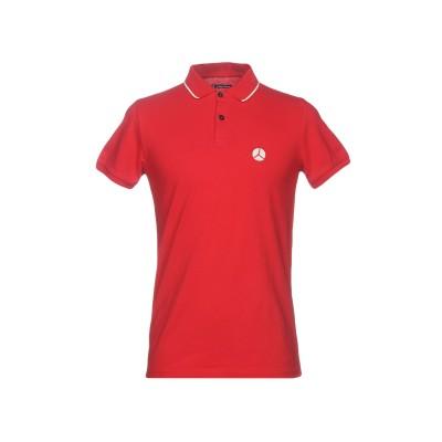 PEOPLE OF SHIBUYA ポロシャツ レッド XXL コットン 90% / ポリウレタン 10% ポロシャツ