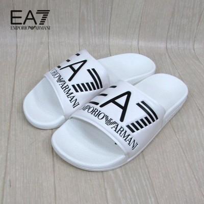 エンポリオ アルマーニ EMPORIO ARMANI EA7 サンダル スポサン ユニセックス XCP001 XCC22 / 00001 / ホワイト 白 サイズ:EU40〜44