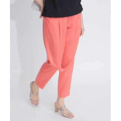 qualite / サテンタックドロストパンツ WOMEN パンツ > パンツ