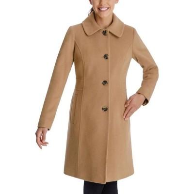 アン クライン Anne Klein レディース コート アウター Club-Collar Walker Coat Camel