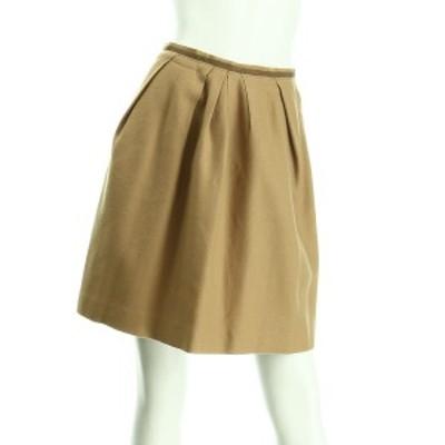 トゥモローランド TOMORROWLAND スカート サイズM レディース ベージュ系 フレアスカート【中古】20201016