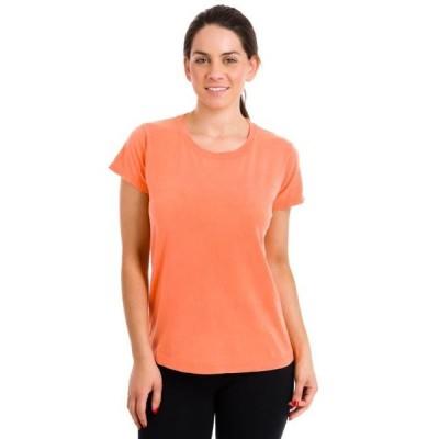 レディース 衣類 トップス Comfort Colors Women's Ringspun Garment-Dyed T-Shirt Melon Small Tシャツ