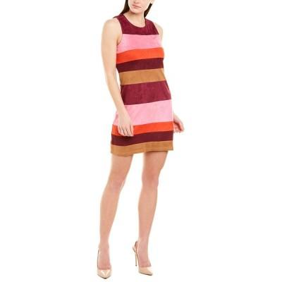 ジュリーブラウン ワンピース トップス レディース Julie Brown Shift Dress foliage stripe