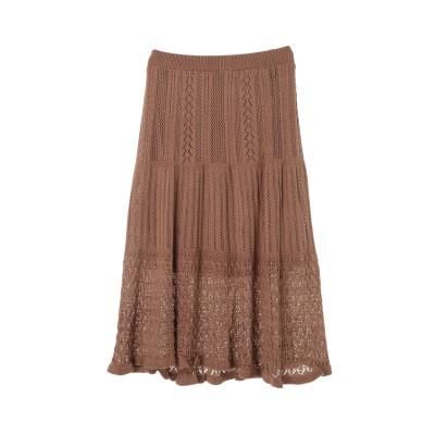 クロシェニットスカート