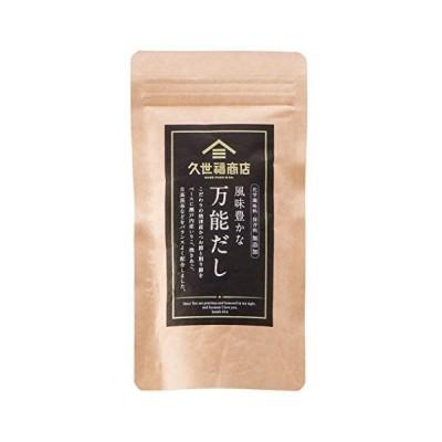 【まとめ買い】久世福 風味豊かな万能だし 40g(8gx5包)x24袋