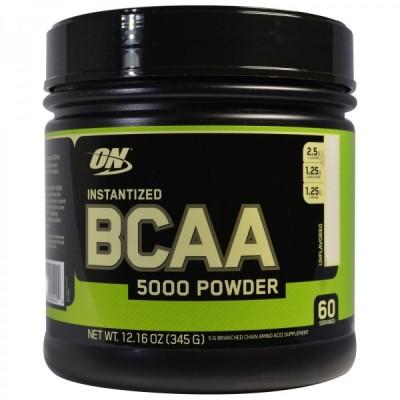 ON 分岐鎖アミノ酸 BCAA5000パウダー 無香料 345g Kentai ON社製 オプティマム オプティマムニュートリション