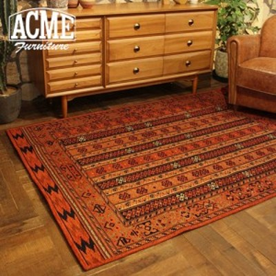 ACME Furniture アクメファニチャー MONTECITO RUG モンテシート ラグ 140x200cm オレンジ 家具 ラグ ラグマット マット ラグカーペット