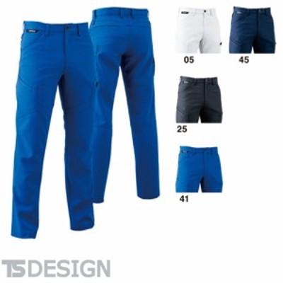 TS Design 藤和 8114 ACTIVEメンズカーゴパンツ メンズ 秋冬 通年 作業服 作業着 ポケット付き
