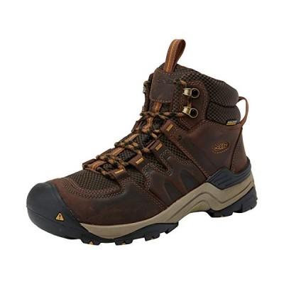 KEEN Men's Gypsum II Mid Waterproof Shoe, Coffee Bean/Bronze Mist, 10.5 M US【並行輸入品】