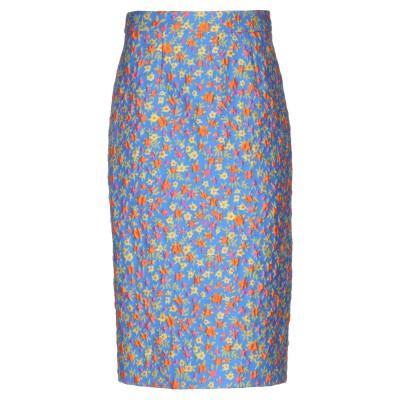 パロッシュ P.A.R.O.S.H. 7分丈スカート ブルー S ポリエステル 48% / コットン 41% / ナイロン 11% 7分丈スカート