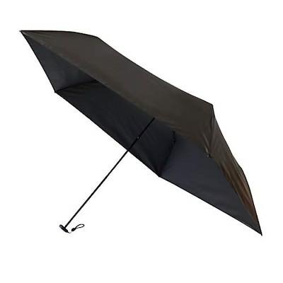 まるで無重力! 超軽量 晴雨兼用折りたたみ傘 Gゼロポケット傘 (ブラック)