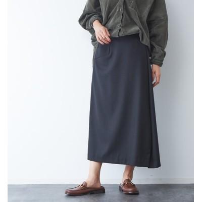 【ルージュ・ヴィフ ラクレ/Rouge vif la cle】 サキソニーポケット付スカート