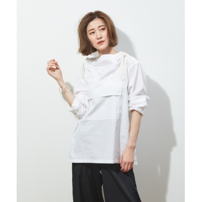 Abahouse Devinette / ファインブロードアノラックシャツ WOMEN トップス > シャツ/ブラウス
