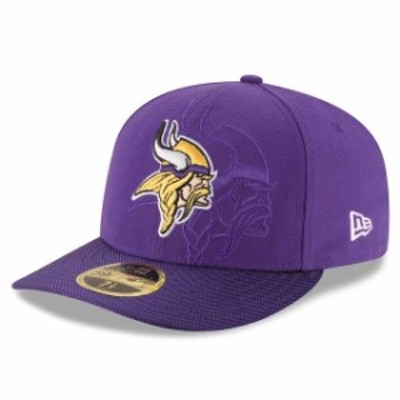 New Era ニュー エラ スポーツ用品  New Era Minnesota Vikings Purple 2016 Sideline Official Low Profile 59FIFTY Fitted