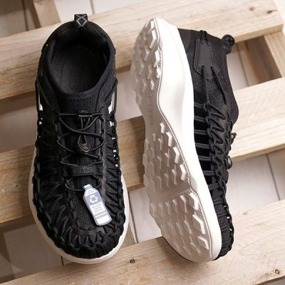 限定 KEEN キーン スニーカー ユニーク スニーク W UNEEK SNK 1022413 SS20 レディース アウトドアシューズ 靴 Black Star White ブラック系