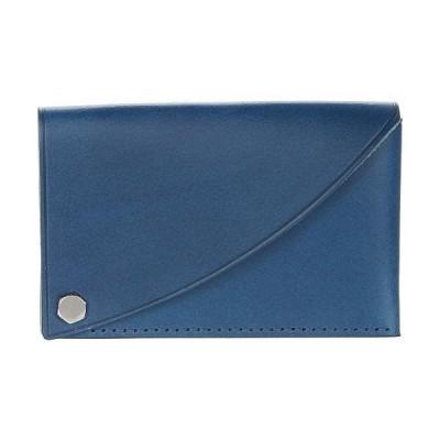 Bosca ボスカ メンズ 男性用 ファッション雑貨 小物 財布 小銭入れ カードケース Flipper Card Case - Blue