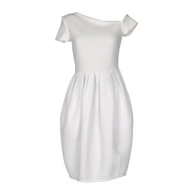 ジャンルカ・カパンノロ GIANLUCA CAPANNOLO ミニワンピース&ドレス ホワイト 44 ポリエステル 66% / レーヨン 30% /
