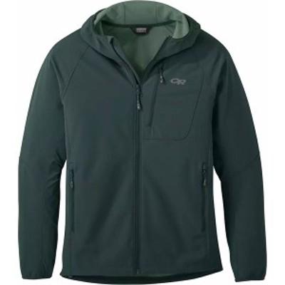 アウトドアリサーチ メンズ ジャケット・ブルゾン アウター Ferrosi Grid Hooded Jacket Fir