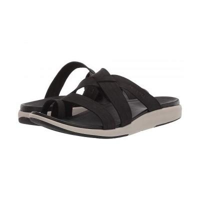Merrell メレル レディース 女性用 シューズ 靴 サンダル Kalari Lore Slide - Black