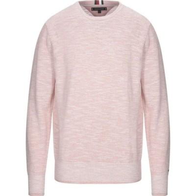 トミー ヒルフィガー TOMMY HILFIGER メンズ ニット・セーター トップス Sweater Pink