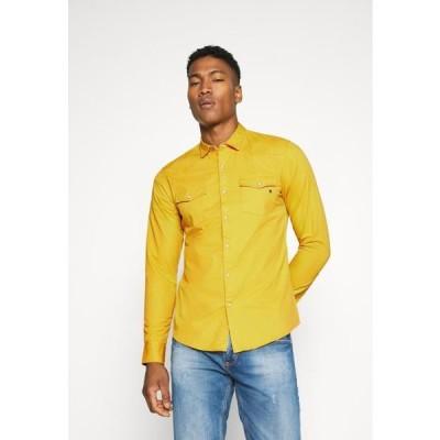 メンズ シャツ Shirt - yellow