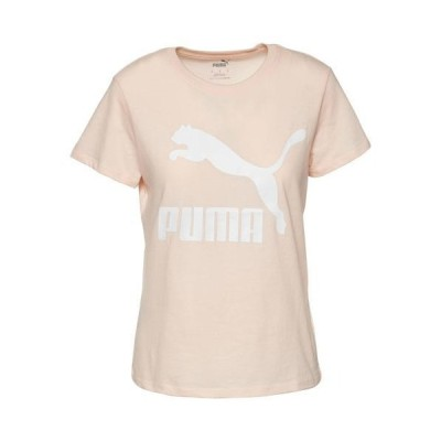 (取寄)プーマ レディース プーマ クラシック ロゴ Tシャツ Puma Women's PUMA Classic Logo T-Shirt Pink