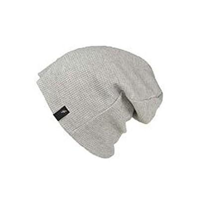 [ライオン堂] ワッフルワッチ・グラフ3 ニット帽 メンズ レディース 春夏 夏 夏用 サマーニット帽 大きい 大きいサイズ フリー(57cm〜62c