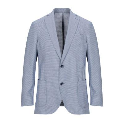 BRERAS Milano テーラードジャケット ブルー 48 コットン 70% / ポリエステル 30% テーラードジャケット