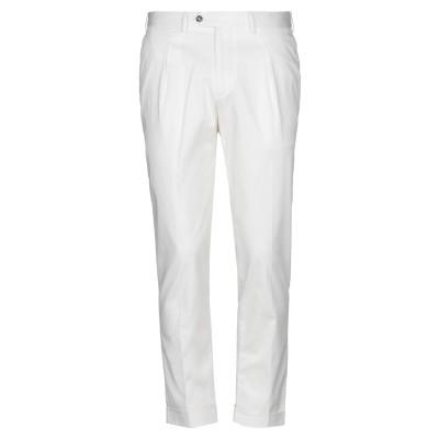BARBA Napoli パンツ ホワイト 50 コットン 98% / ポリウレタン 2% パンツ