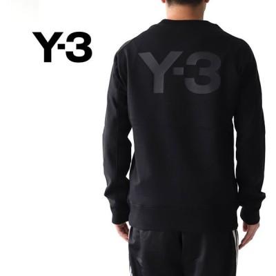 Y-3 ワイスリー バックロゴスウェット FJ0350 トレーナー Yohji Yamamoto ヨウジヤマモト メンズ レディース