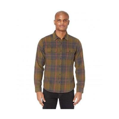The Normal Brand メンズ 男性用 ファッション ボタンシャツ Conrad - Brown Plaid