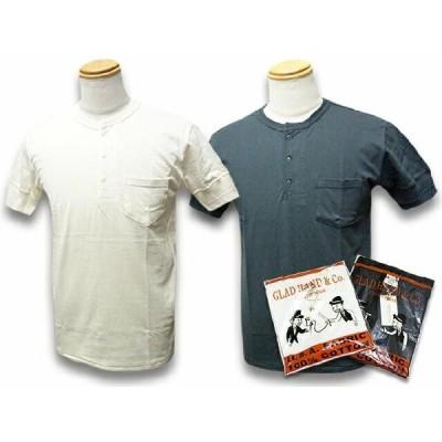 """全2色GLAD HAND/グラッドハンド「Pack Tee""""Standard Henry Pocket Short Sleeve Tee""""/パックTe"""