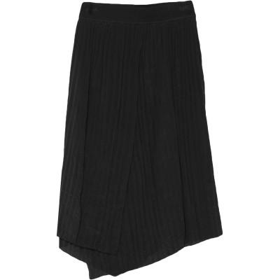 VINCE. 7分丈スカート ブラック XS アセテート 88% / シルク 12% / レーヨン / ナイロン / ポリウレタン 7分丈スカート