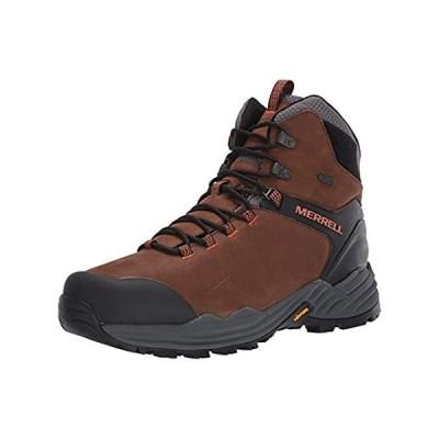 Merrell Men's PHASERBOUND 2 Tall Waterproof Hiking Shoe, Dark Earth, 9.5