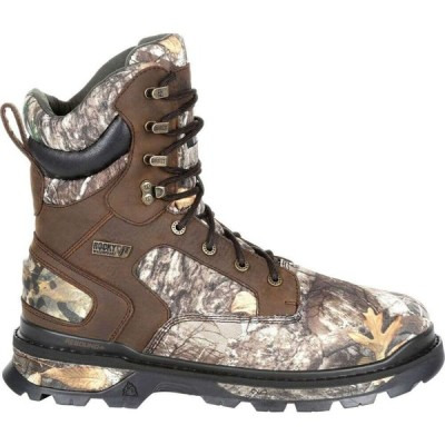 ロッキー Rocky メンズ ブーツ シューズ・靴 Rams Horn 10000g Insulated Waterproof Hunting Boots Realtree EDGE