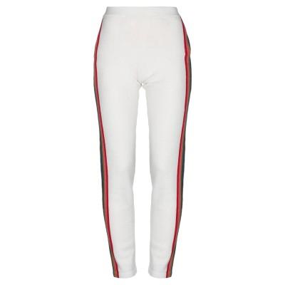 アリュード ALLUDE パンツ ホワイト XS バージンウール 55% / ナイロン 25% / コットン 20% パンツ