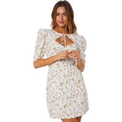 ミンクピンク Minkpink レディース パーティードレス エンパイアドレス ミニ丈 ワンピース・ドレス Chelsey Puff Empire Mini Dress Multi