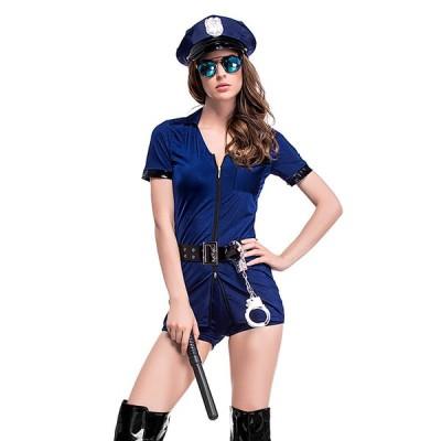 大人 ロウィン衣装 女性用 ポリスマン コスプレ 警察官 コスチューム ポリスウーマン ハロウィン 衣装 婦人警官 軍服 子供ハロウィン衣装 ハロウィーン