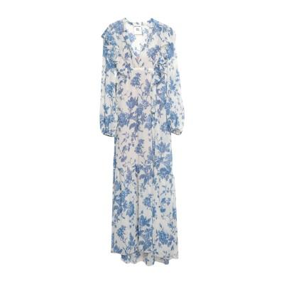 セミクチュール SEMICOUTURE ロングワンピース&ドレス アイボリー 44 ポリエステル 100% ロングワンピース&ドレス