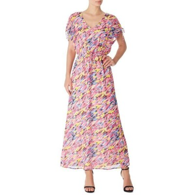アイエヌシーインターナショナルコンセプト ワンピース トップス レディース INC Abstract-Print Maxi Dress, Created for Macy's Pink Punch Multi