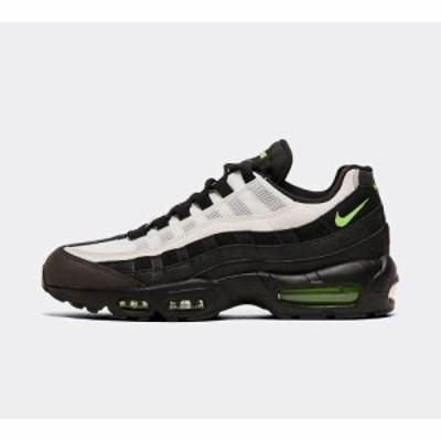 ナイキ Nike メンズ スニーカー シューズ・靴 air max 95 essential trainer Black/Electric Green