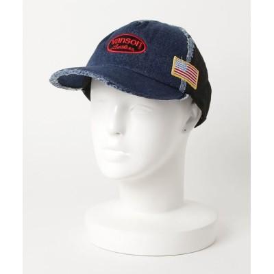 atmos pink / VANSON DAMAGE MESH CAP-2 MEN 帽子 > キャップ