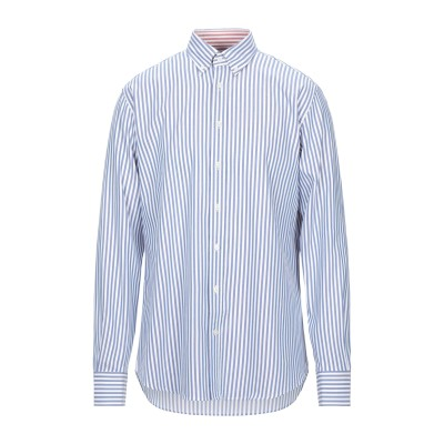 ハケット HACKETT シャツ ブルー S コットン 100% シャツ