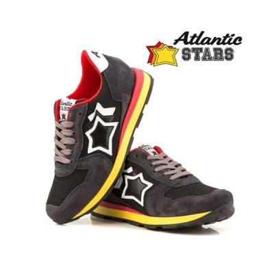 Atlantic STARS 大人もOKのスニーカー 23.5〜25.5cm / Nero / 取寄品