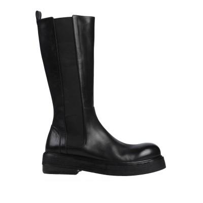 マルセル MARSÈLL ブーツ ブラック 39.5 革 ブーツ