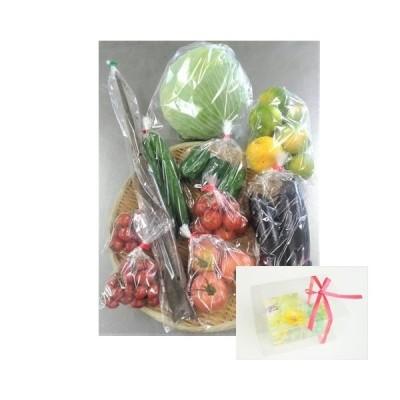 お家で過ごそう! 熊本県産お野菜と『CUBIC FLOWER』セット(ライトグリーン系)