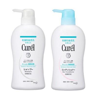 Curel(キュレル) シャンプー ポンプ 420mL+コンディショナー ポンプ 420mL 花王 敏感肌