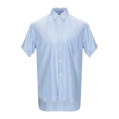 COMME des GARÇONS SHIRT シャツ アジュールブルー M キュプラ 100% シャツ