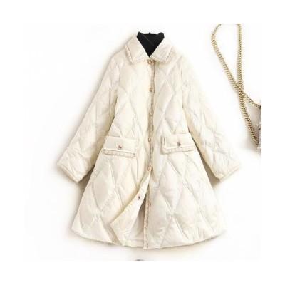 ダウンコート レディース ブルゾン トップス 厚手 軽い ダウンジャケット 大きいサイズ アウター 暖かい 上品 20代 30代 40代 50代 2020秋冬新作